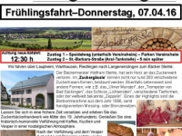 2016-04-07 Senioren Frühlingsfahrt