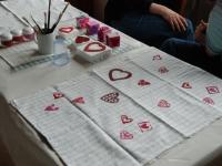 2016-04-23 Muttertagsbasteln für Mitgliedskinder im Vereinsheim