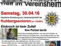 2016-04-30 Vereinsheimtreff