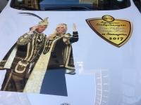 2017-01-06 Besuch der Inthronisation des Stuttgarter Stadtprinzenpaar zusammen mit dem Prinzenpaar von den Lachatrapper aus Dornstadt