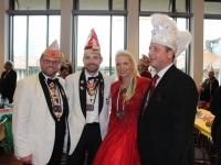 2017-11-12 Besuch bei der Inthronisation des Stuttgarter Stadtprinzenpaar im Stuttgarter Rathaus
