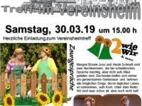 2019-03-30 Vereinsheimtreff