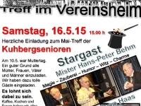 2015-05-16 Maitreff im Vereinsheim